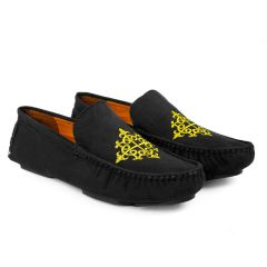 Bxxy Men's Casual Suede Material Driving & Loafers Shoes