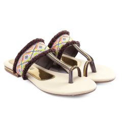 Bxxy's Synthetic Material Flats | Stylish Slipper for Women's and Girls | Attractive and Elegant Looks
