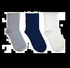 Champ School Socks Cotton and Lycra Comfort & Trendy-Size: 2-4 (Multi-Color)