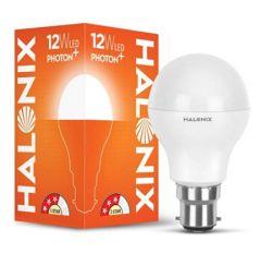 Halonix B22 Photon Plus Base 12-Watt LED Bulb (Cool Day Light)