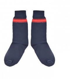 Center School School Strips Cotton and Lycra Comfort & Trendy-Size: 2-4 (Blue)