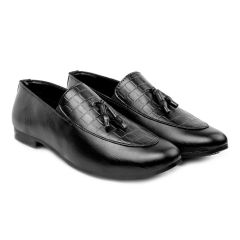 Baxxy Casual Pu Leather Tassel Loafer & Moccasins Shoes For Men's
