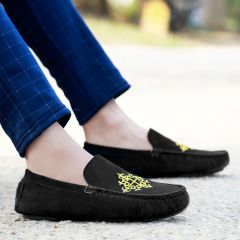 Bxxy Men's Casual Suede Material Driving and Loafers Shoes Style: 634A