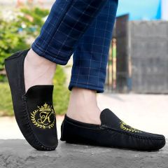 Bxxy Men's Casual Suede Material Driving and Loafers Shoes Style: 635A