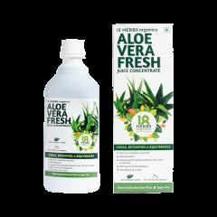 18 Herbs Aloe Vera Fresh Juice Zero Added Sugar (Size-500ml)
