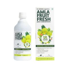 Lotus Networks 18 Herbs Amla Fresh Juice Concentrate (Size-500ml)