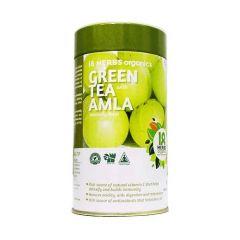 Premium Quality 18 Herbs Green Tea Amla - 40 Bags