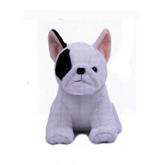 Apollo Toys   Spongy Huggable Cute Little Puppy Soft Toy for Kids   Washable Plush Animal Figure Toys for Kids   Super Soft   (White)