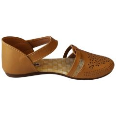 Bantu Women's Fashion & Stylish Casual Sandal (Tan)