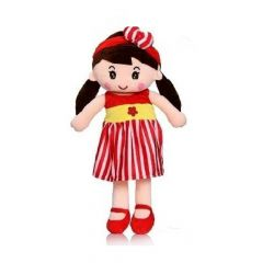 Apollo Toys | Cute and Soft Doll for Kids, Attractive Doll for Girls | Doll Size - 40 cm | (Multi-Color) (Pack of 1)