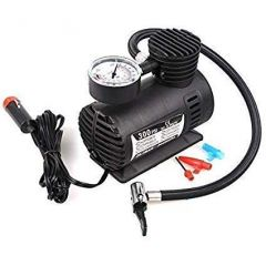 Air Compressor for Car and Bike 12V 300 PSI Tyre Inflator Air Pump for Motorbike, Cars, Bicycle, for Football, Cycle Pumps for Bicycle, car air Pump for tubeless