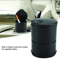 Portable LED Ashtray Cup Holder for Cars/Truck/Auto