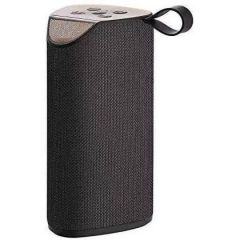 TG 113 Bluetooth Wireless Speaker Super Base with Mic for Mobile, Laptop, PC (Black)