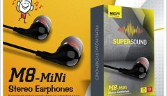 KDM M8 Mini Stereo In-Ear Earphones with Mic High quality clear Sound | Perfectly set in ear | Deep Bass