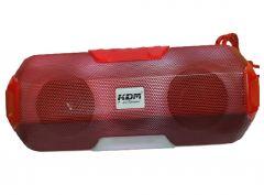 KDM Portable Wireless Bluetooth Speaker with Premium Sound Robust Bass Splash Resistance Led Equalizer