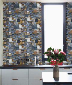 Self Adhesive Wallpaper for Balcony | Wallpaper Roll | Sticker Wallpaper