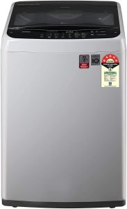 LG 7 Kg Capacity Inverter Fully-Automatic Top Loading Washing Machine (T70Spsf2Z) (Color: Silver)