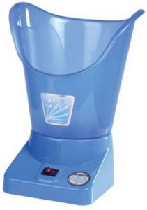 Boxerdoll Medical Mini Steam Inhaler Facial Vaporizer (Pack of 1) | (Blue)