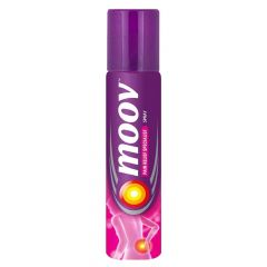 Moov Fast Pain Relief It Helps in Relaxing Muscle Stiffness & Relieving Pain Effectively Spray (80gm)   (Pack of 1)