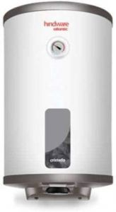 Hindware Copper Sheated Heating Element Cristallo 25L Geyser (Color: White)