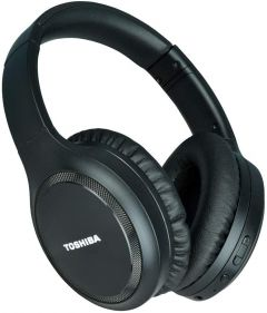 Toshiba Rze-Bt1200H(K) Noise Cancelling Bluetooth Headphones With Mic (Color: Black)