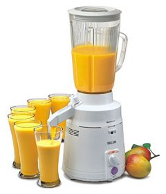 Sujata Mega Mix, Mixer Grinder, 900 Watts, 1 Unit Motor, 1 Jucier Attachment Without Any Jar (White)