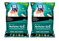 Kaahan Ayurveda Madhuhar King Powder For Cure Sugar (Pack of 2)