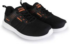 KrishnaEnt Men's Durable, High-Quality, Flexible Sports Shoes Suitable for all kinds of Sports (Color: Black)