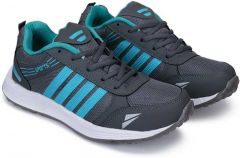 Lightweight & Flexible Sports Shoe For Mens Suitable for all kinds of Sports (Color: Grey)