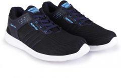 Latest FaceBook Sport Round Tip Shape Outdoors  Play shoes For Man Black & Blue -KK_04_Man_Face_Book_Sport_Shoes_Black_Blue_02