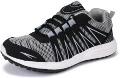 KrishnaEnt Mens Sports Especially For Running | Walking And Gym Shoes For Men (Color: Grey) -Fly/524/Grey_07