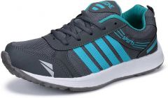 Mens Mesh Sports Shoes High Quality | Comfortable | Durable (Color: Grey) -518_Fly_Grey