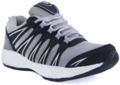 KrishnaEnt Mens Sports & Casual Running Shoes Suitable For All Kinds Of Sports (Color: Grey) -begone-mark-grey