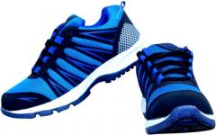 Mark Running Shoes Excellent for all kinds of Sports Especially for Running For Men Black & Blue -MARK-BLUE-0009