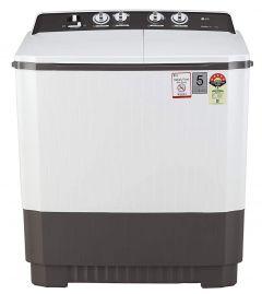 LG 9 Kg Capacity 5 Star Semi-Automatic Top Loading Washing Machine (P9040Rgaz, Lint Collector) (Color: Grey)