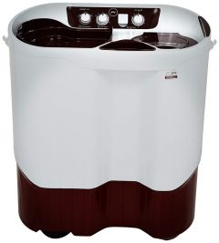 Godrej 8.5 Kg Semi-Automatic Top Loading Washing Machine (Ws Edgepro 850 Es) (Color: White/Maroon)