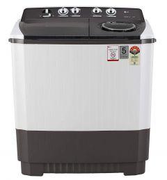 LG 10 Kg Capacity 5 Star Semi-Automatic Top Loading Washing Machine (P1045Sgaz, Wind Jet Dry) (Color: Grey)