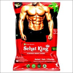 Kaahan Ayurveda Natural Sehat King Ayurvedic Weight Gainer For Mens (Weight: 160g)