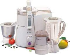 Sujata Powermatic Plus, Juicer Mixer Grinder With Chutney Jar, 900 Watts, 3 Jars (Color: White)