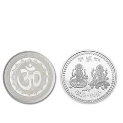 Pure Silver Coin for Gift & Pooja