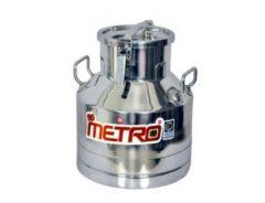 Aquiriosindia High Quality Stainless Steel Locking Milk Can/Milk Container/Milk Pot (20 Ltr)