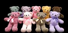 Shree Sai Durga Dhoom Toys | Huggable Soft & Cute Teddy Bear for Kids | Size - 35CM | (Multi-Color) (Pack of 1)