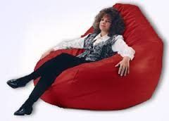 VSK Bean Bag Cover XXXL (Without Beans) - Red