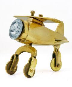 MohitEnterprises   Toddler Toys Antique Brass Aeroplane - Gold   Pack of 1