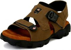 Men Stylish with Perfect & Regular Fit Olive Sandal (Pack of 1)