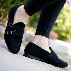 Bxxy's Mens Style: 684A Casual Double Monk Loafer & Moccassins Shoes All Occasions