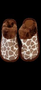 Footshine Women Knitted Fabric Eva Slippers
