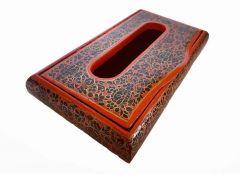 Dehqaniandbros Stylish Paper Mache Hand Painted Tissue Box (Pack of 1)