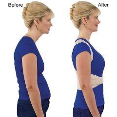 Adjustable Royal Posture Back Support Brace Unisex