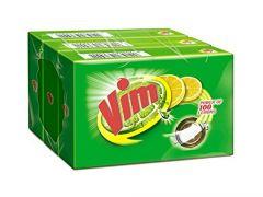 Vim Strong bar for utensils Gentle on Hands Lemon Bar (130 gm)   (Pack of 3)